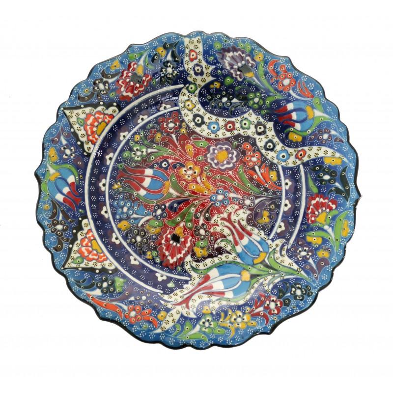 Handmade Turkish Ceramic Plate