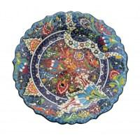 Handmade Turkish Ceramic Plate - mehrunnisa