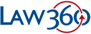 Image of the Law360 logo in color