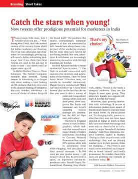 catch the stars when young