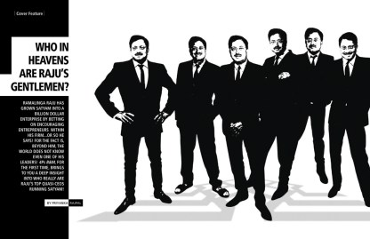 Who in heavens are raju's gentlemen - Satyam