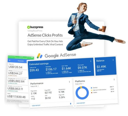 BuzzPress-Profits-with-adsense