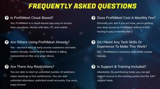 ProfitMeet-faq