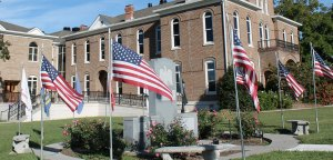 Meigs County Courthouse WW II Memorial
