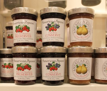 Great for foodies! American Spoon jams and preserves – between $10 and $12