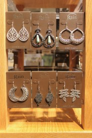 Earrings - the variety seen here range from $9.95 - $15.95