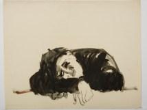 Untitled (Man Sleeping) Rome 1953-54