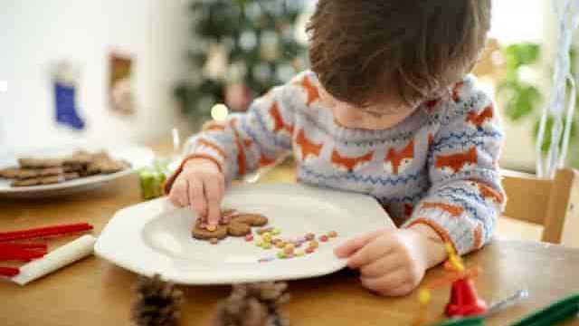 クッキーと子供