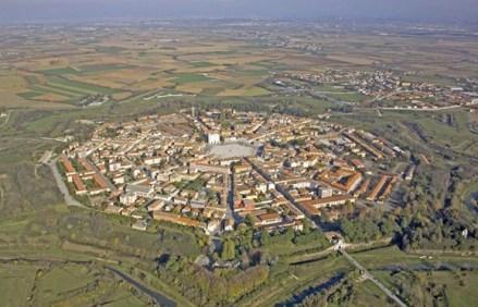 Luftaufnahme von Palmanova