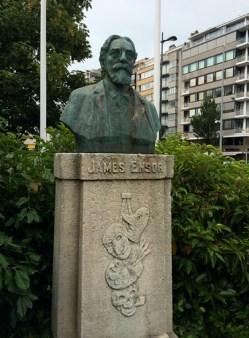 James Ensor im Leopoldpark