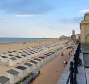 Blick auf die Promenade