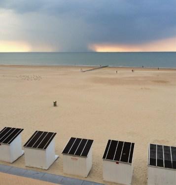Strand in Ostende