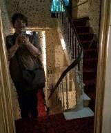 Im Treppenhaus des Ensor-Hauses