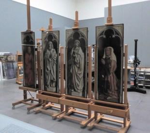 Altartafeln im Museum
