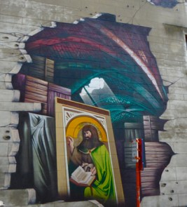 Der Genter Altar als Streetart