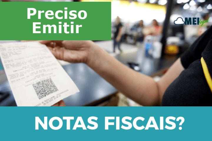 Preciso emitir notas fiscais? - Contabilidade online para Microempreendedor Individual (MEI) com emissão de nota fiscal carioca, nota fiscal eletrônica entre outros serviços