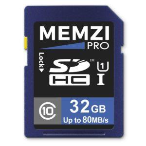 Comparatif carte mémoire appareil photo