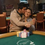 Ashley Sleeth et Jesse Sylvia forme une paire gagnante au poker