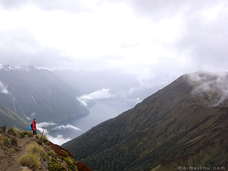 Got my heads in the clouds. Location: Kepler Track.
