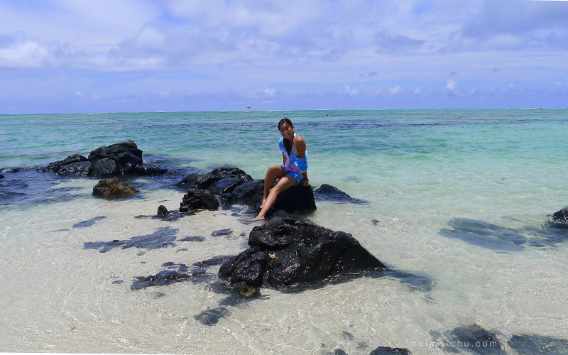 Things to do in Mauritius: go to the beach
