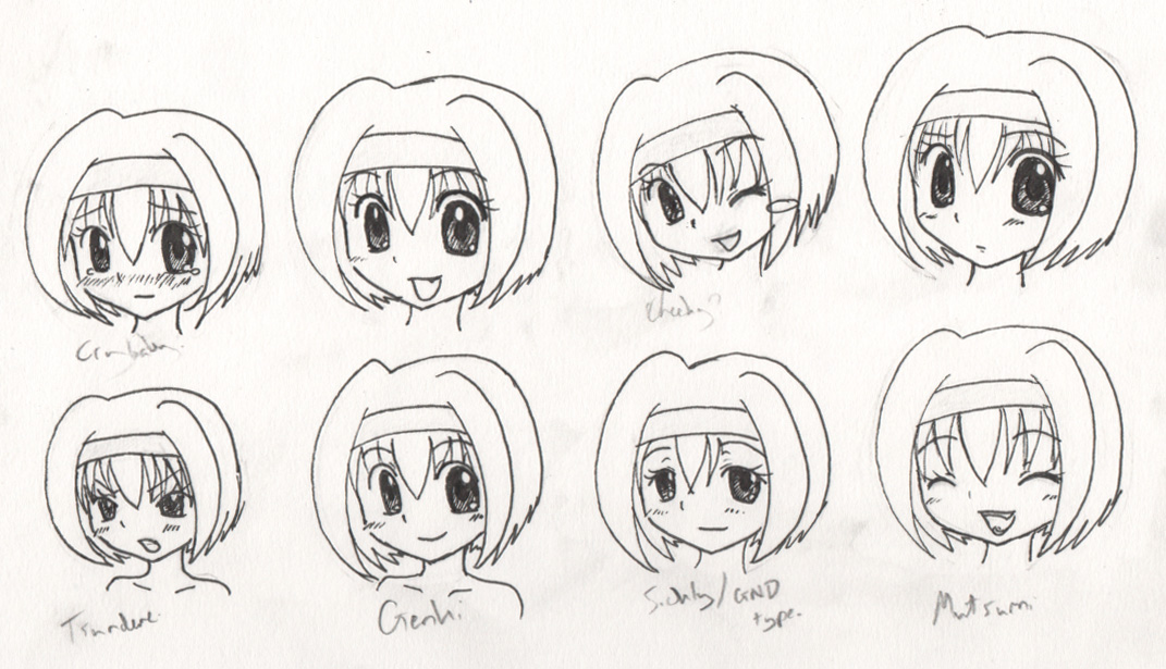 Various expressions. Just for fun in class.