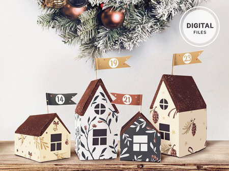 Die schönsten DIY Adventskalender zum Selbstgestalten