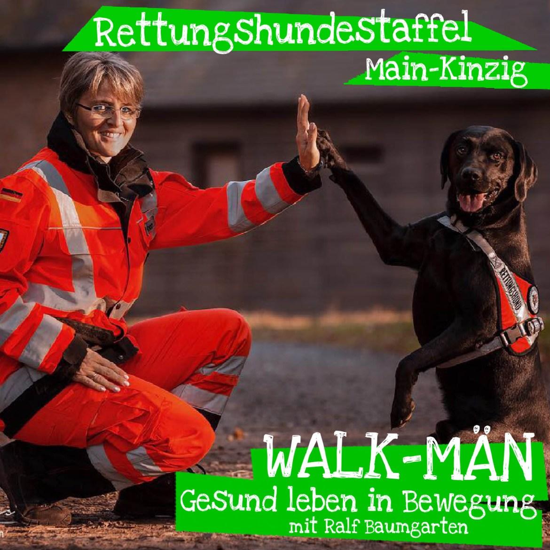 Walk-Män-Podcast 75: Rettungshundestaffel MK / Angelika Simon