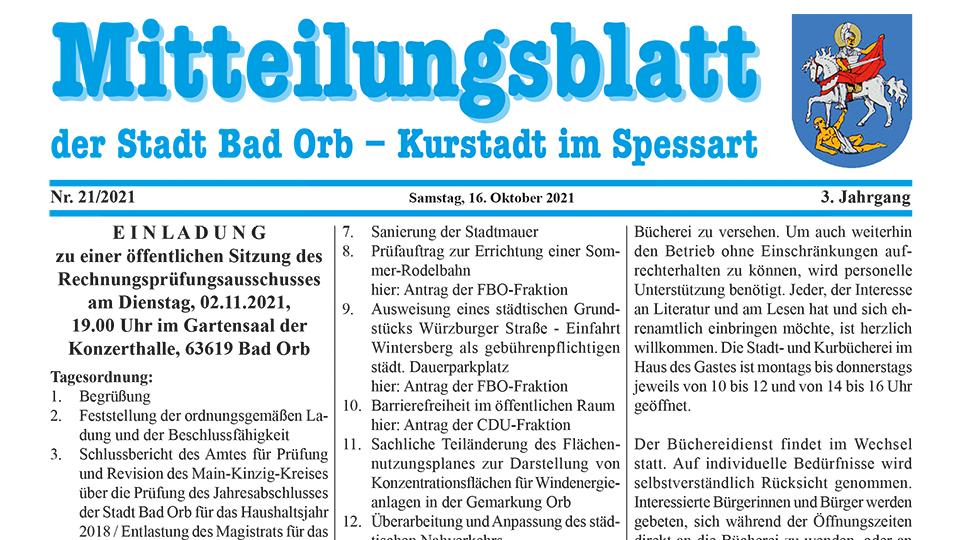 Mitteilungsblatt 21