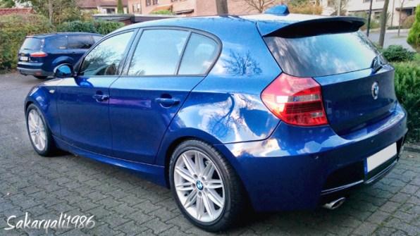 BMW LCI Heckleuchten high