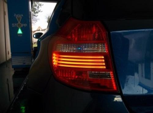 BMW Rückleuchten high mit LED Stäben