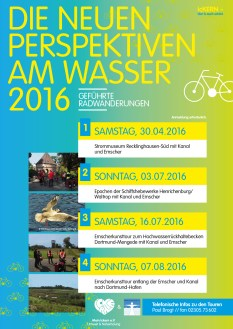 Menschen an der Emscher e.V. & Mein Ickern e.V. - Radwanderungen 2016