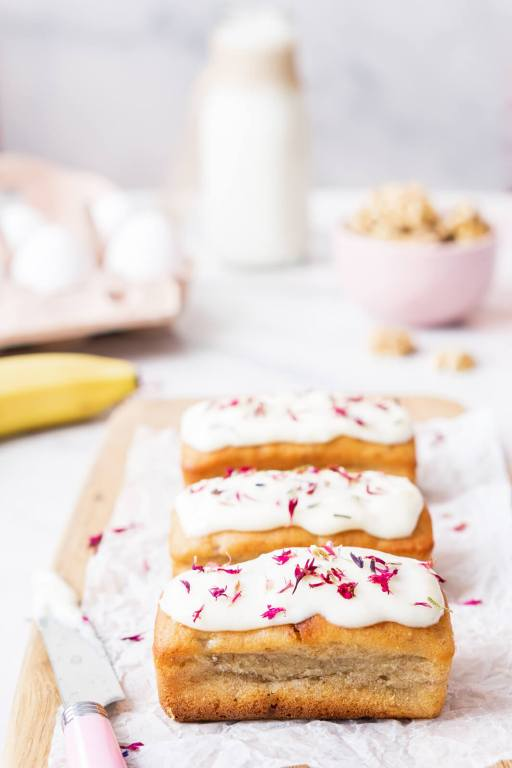 Mini Kuchen-Banana Bread