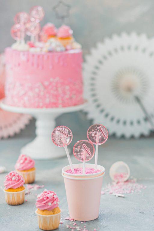 Mädchen-Geburtstagstorte