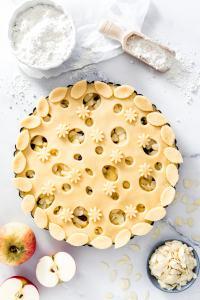 Gedeckter-Apfelkuchen