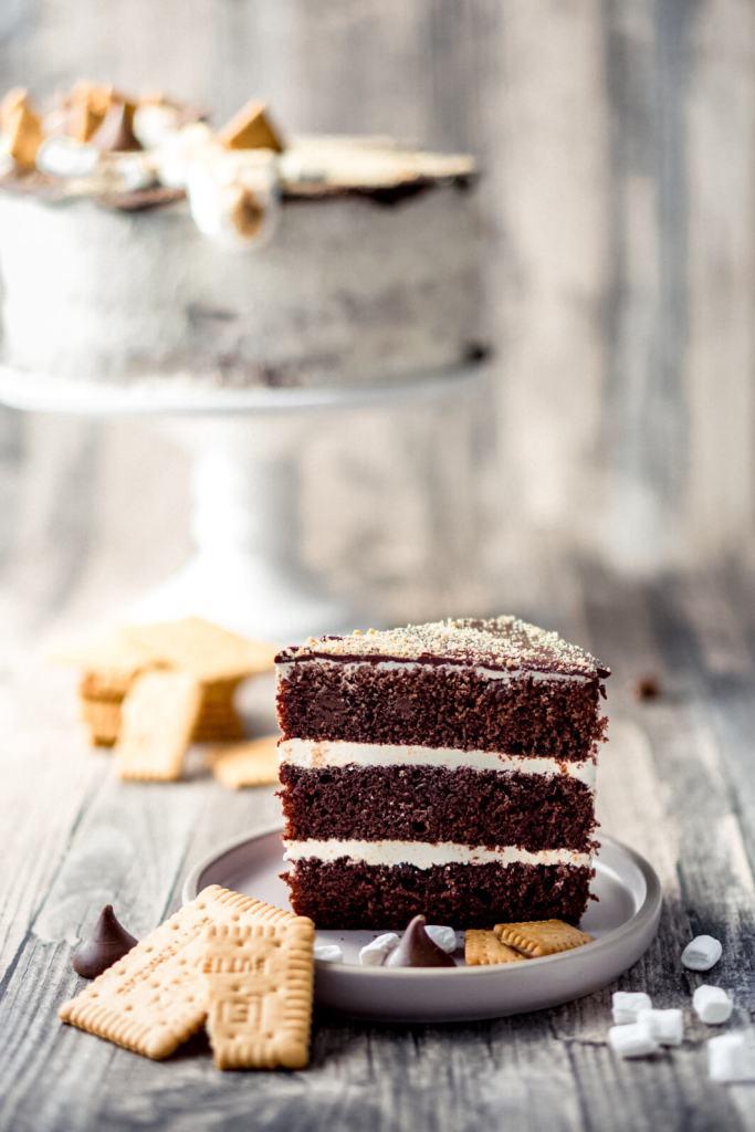 Smores-Cake-Schokotorte