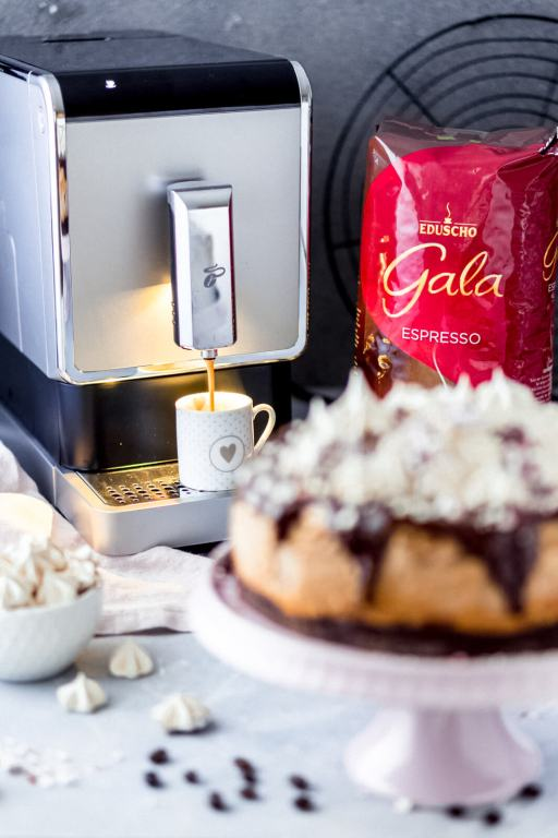 Kaffee-Kaesekuchen