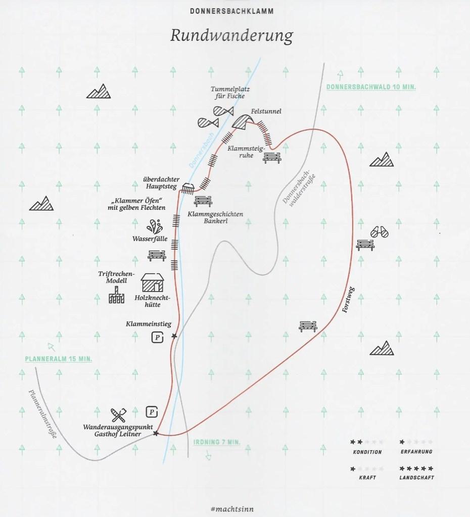 Rundweg Donnersbachklamm