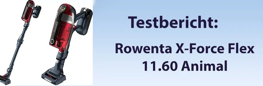 Rowenta X-Force Flex 11.60 Akkustaubsauger
