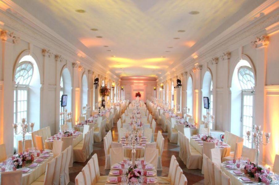 Hochzeit in der Orangerie Berlin im Schloss Charlottenburg in Berlin  Hochzeiten  Feiern