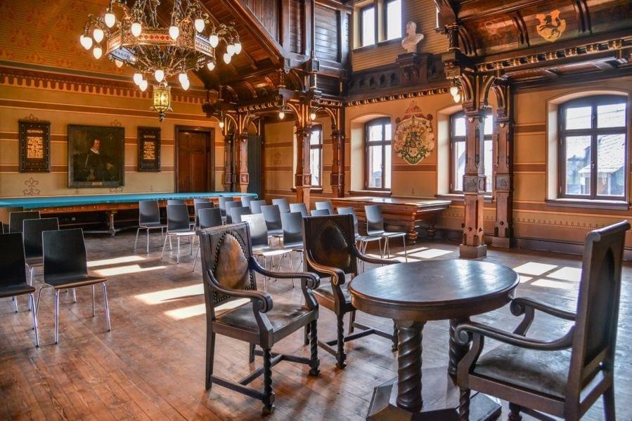 Heiraten im Historischen Ratssaal auf Burg Mylau in Mylau