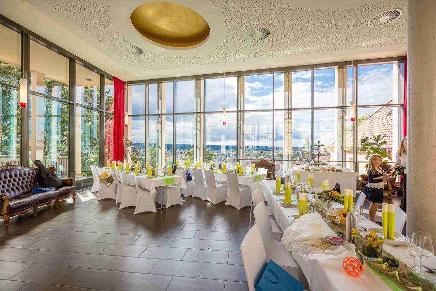 Hochzeit im Schlocaf auf dem Schloss Sonnenstein in