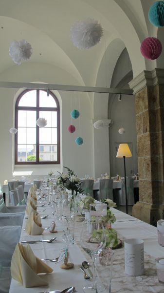 Hochzeit im zeitlos restaurant  caf in Dresden  Hochzeiten  Feiern