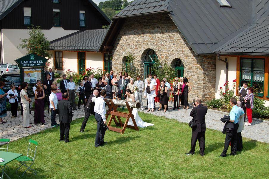 Hochzeit im Landhotel Rittersgrn in BreitenbrunnErzgebirge  Hochzeiten  Feiern