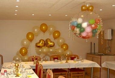 Dekoluft Ballonladen Dekoration in Chemnitz  Hochzeiten