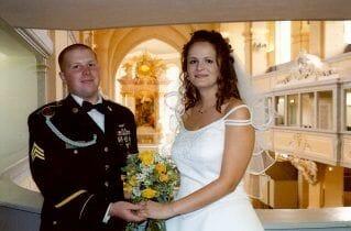 Heiraten in der Nikolaikirche Freiberg in Freiberg