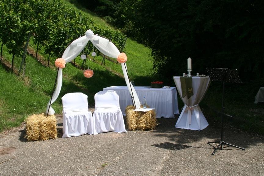 Hochzeit beim Weingrtner Esslingen in Esslingen am Neckar