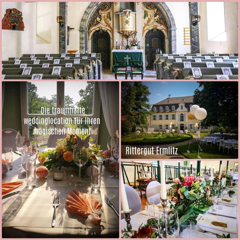 Hochzeit auf dem Rittergut Ermlitz in Schkopau