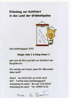 Kohlfahrt 2011  Mein Apen