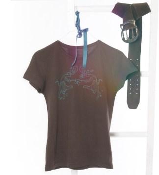 Shirt mit Tiger-Aufdruck, Farbe: Brown