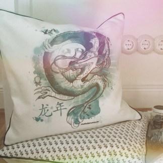 Kissen DRAGON 40x40cm – meindaruma